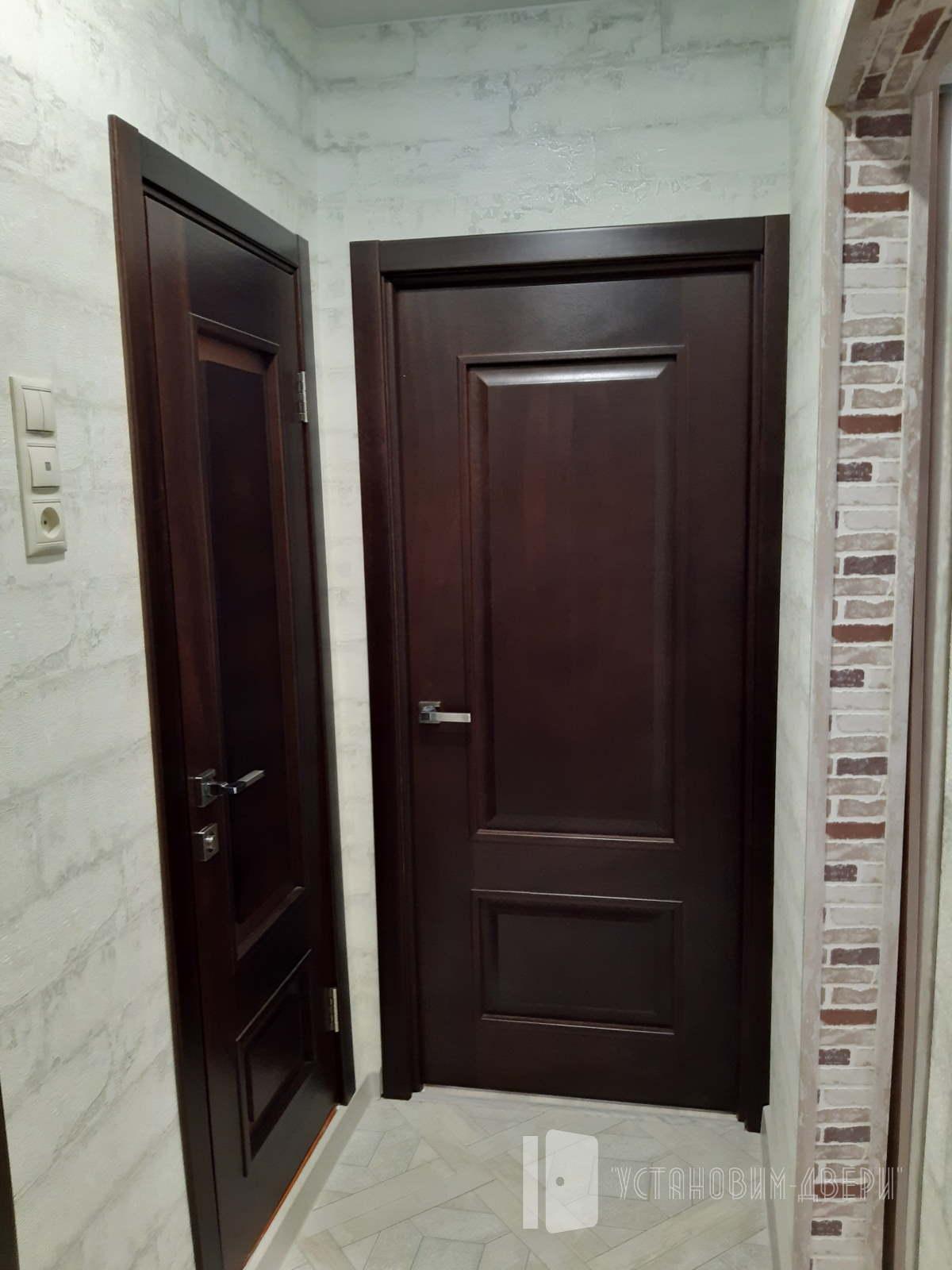 черные двери