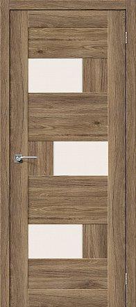 Дверь межкомнатная «Легно-39» Original Oak остекление Сатинато белое