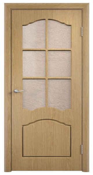 дверь в пленке пвх