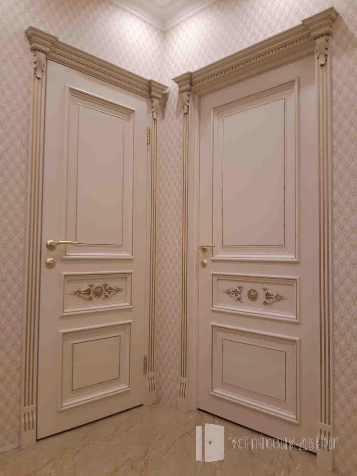 двери эмалерованные